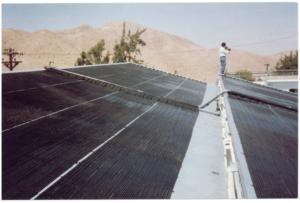 Imagen Colector solar sin cubierta