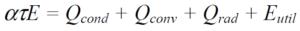 Fórmula coeficiente absorción